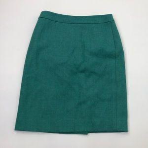 J. Crew No. 2 Pencil Skirt Size 2 Petite